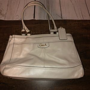 Authentic White Coach Purse